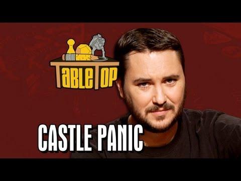 Castle Panic: Yuri Lowenthal, Tara Platt and Andre the Black Nerd join Wil Wheaton on TableTop, Ep 6