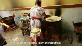 Making Tortillas in Puebla, Mexico