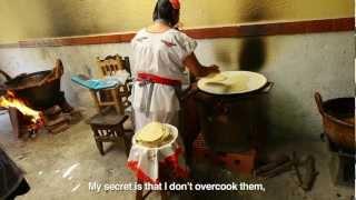 making tortillas in puebla mexico