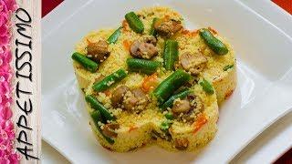 Кускус с грибами и овощами. Постные рецепты / Couscous with Mushrooms and Vegetables. Vegan recipes