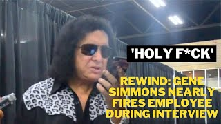 Gene Simmons Nearly Fires Employee During Interview (2018)
