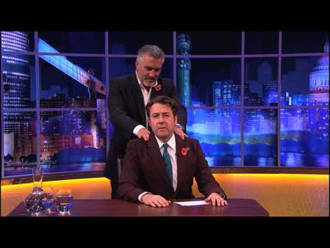 Paul Hollywood Massages Jonathan Ross - The Jonathan Ross Show
