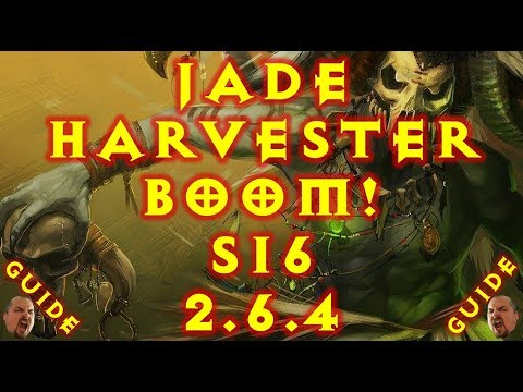 Diablo 3 S16 Jade Harvester Witch Doctor Build! 2.6.4