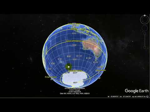 Earth Geometry lesson 2 - Distance between two points on great circle