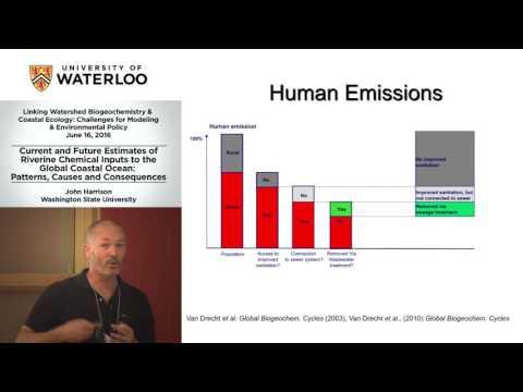John Harrison: Current & Future Estimates of the Riverine Chemical Inputs to the Global Coast Ocean