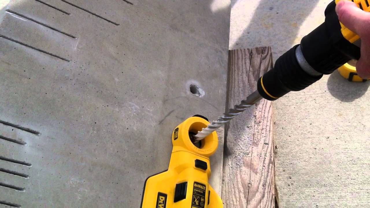 Dewalt Roto Hammer Dust Collection System Youtube