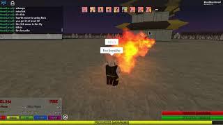 Roblox ? Avatar El último Airbender Todos los movimientos de fuego/combustión