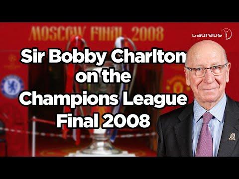 Sir Bobby Charlton on Champions League Final 2008 Part 1