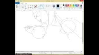 How To Draw: Ultraman Ginga: Speed Paint: Part 1