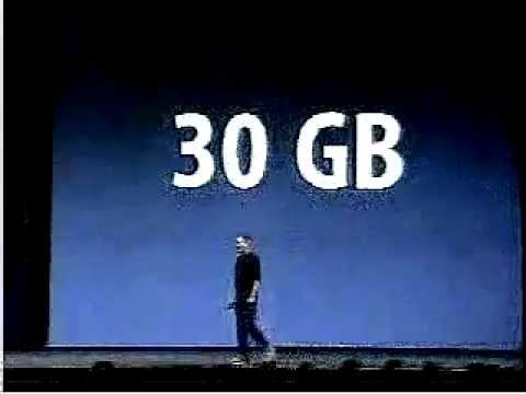 #01 Steve Jobs Keynote iTunes Music Store Intro 2003-001