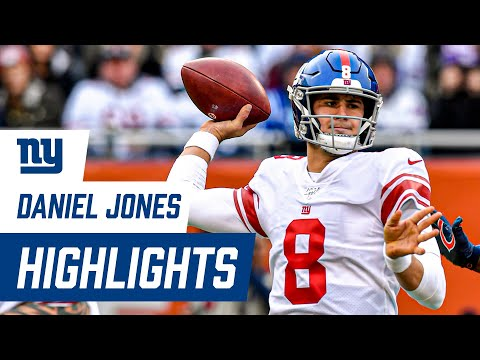 TOP Highlights from Daniel Jones' Rookie Season | 2019 New York Giants