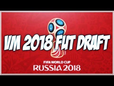 VM 2018 FUT DRAFT!   Fifa 18 på svenska!