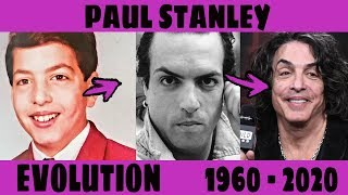 Paul Stanley - evolution from 8 to 68 years old