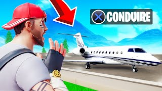 Je PILOTE le plus GROS AVION sur FORTNITE
