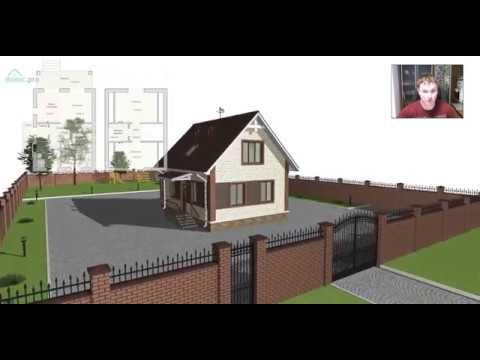 Проект оптимального небольшого мансардного дома «Ульяновск» A-405-ТП