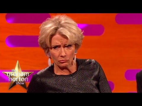 Emma Thompson Disses Arnold Schwarzenegger  The Graham Norton