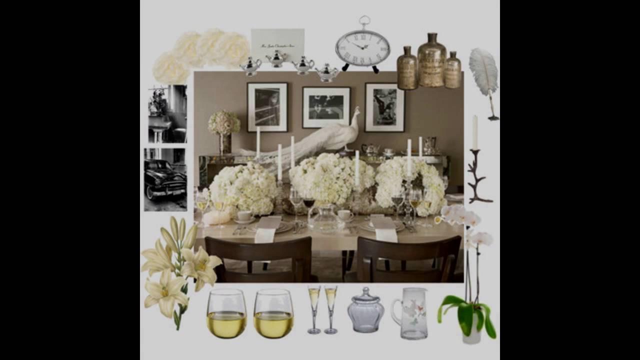Elegant Dinner Party Themed Decorating Ideas Youtube