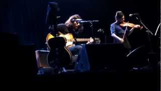 Conor Oberst live - Laura Laurent (Conor leaves stage) & Breezy - acoustic solo Hamburg 2013-01-29