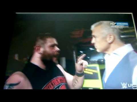 Monday Night Raw Kevin Owens interrupts ...
