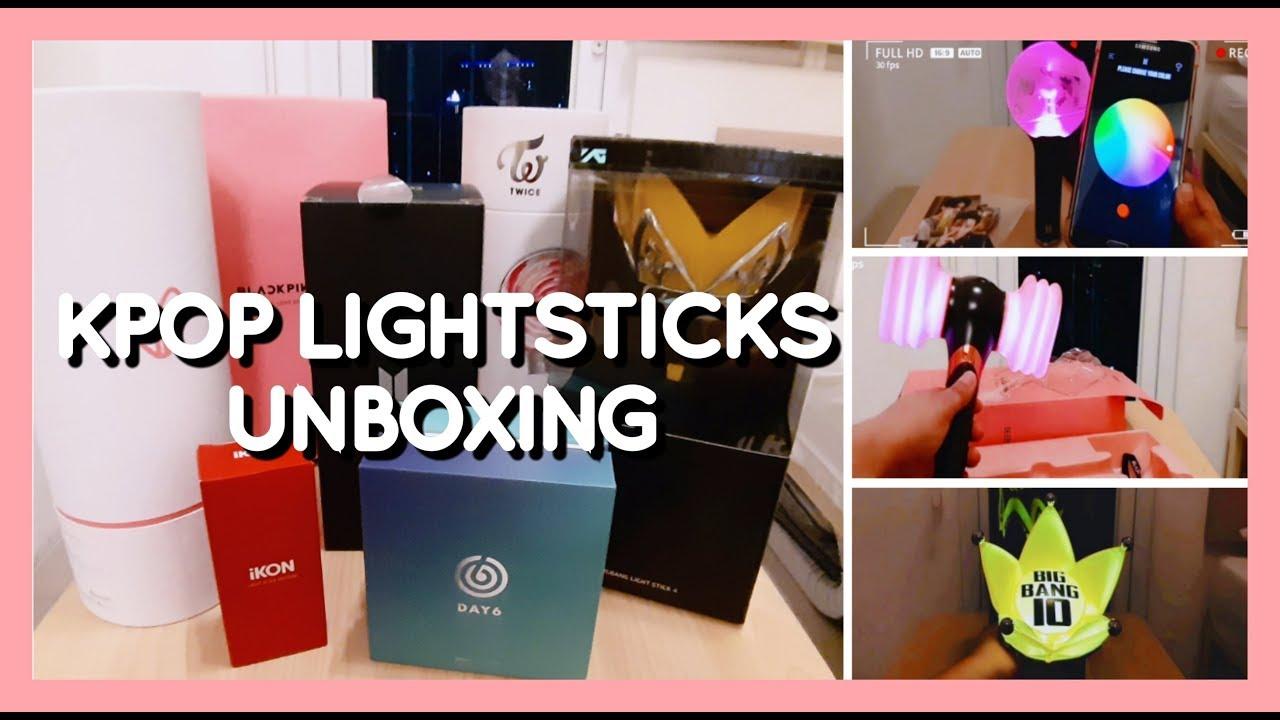 UNBOXING: KPOP Lightstick Collection 2019