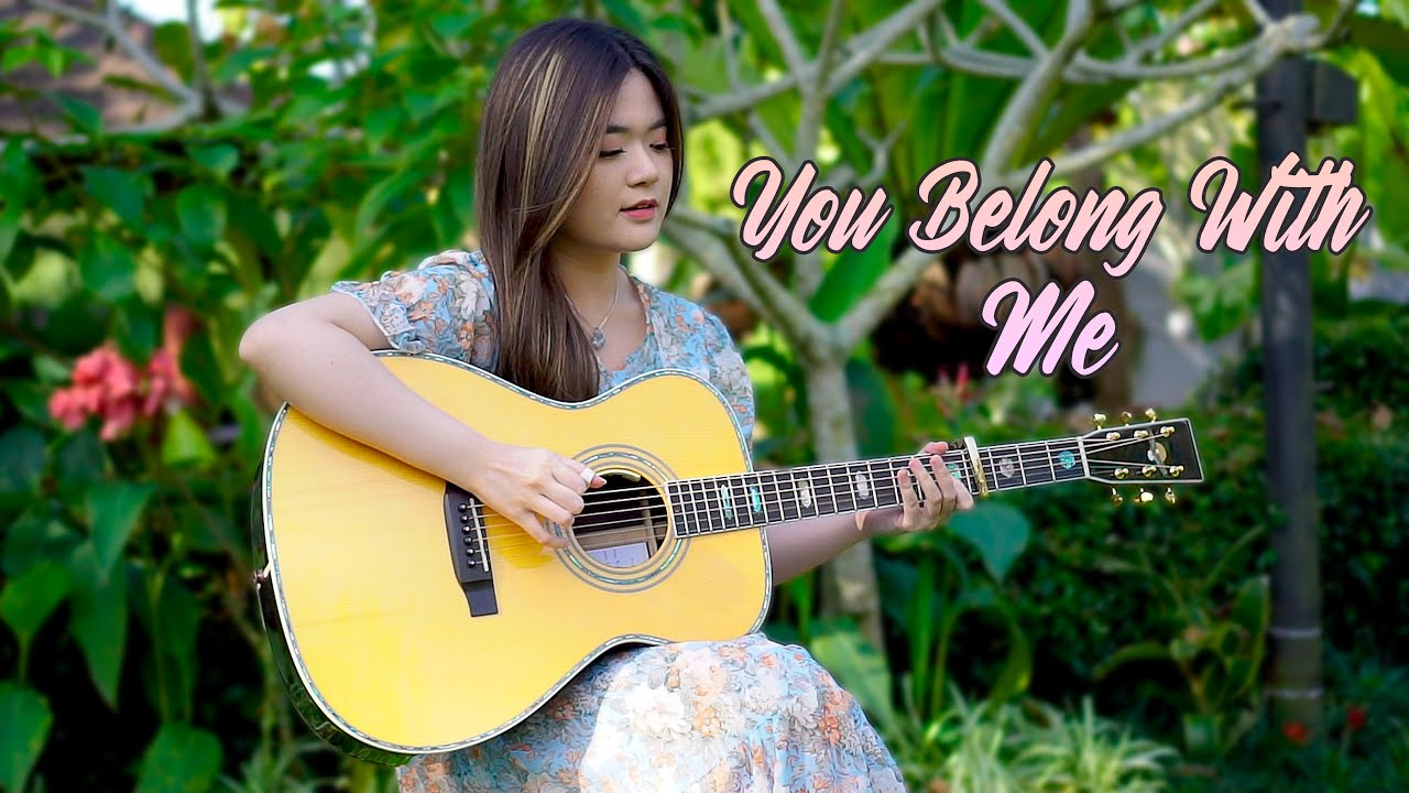 (Taylor Swift) You Belong With Me - Fingerstyle Guitar Cover | Josephine Alexandra