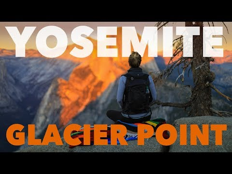 Yosemite • THE BEST SUNSET in the park is seen at Glacier Point