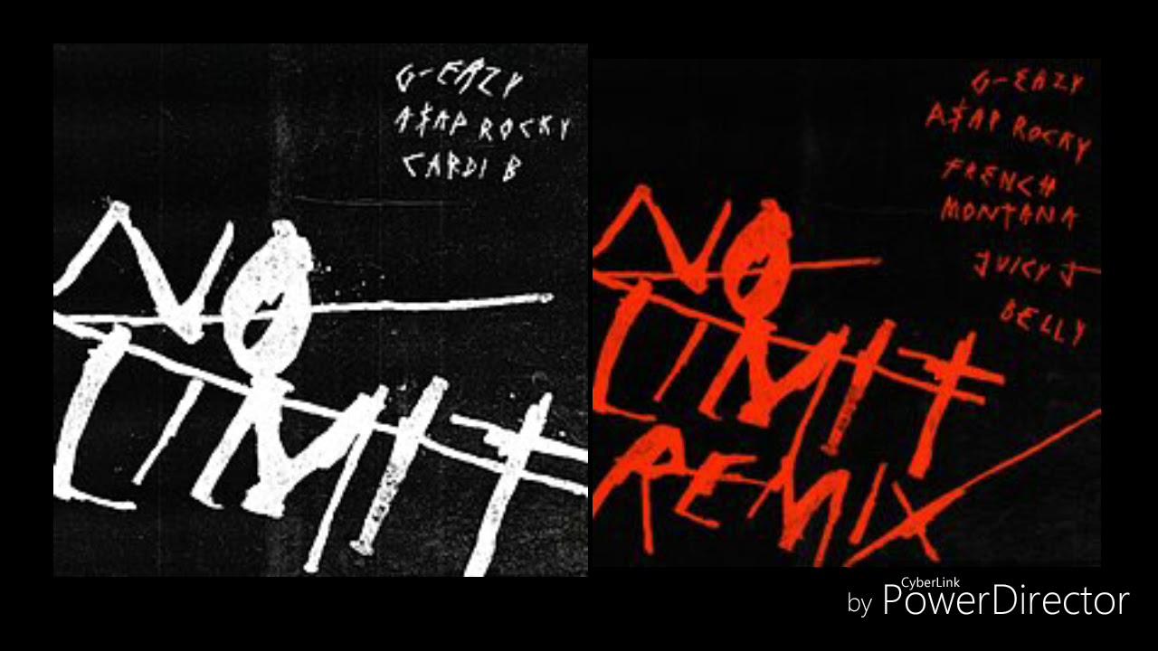 Download G-Eazy Ft. A$AP Rocky, Cardi B, French Montana, Juicy J & Belly - No Limit Remix