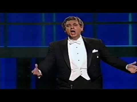 """Placido Domingo  """"E lucevan le stele"""" & """"You are my hearts delight"""" (Royal Birthday Gala Pt 28/30)HD"""