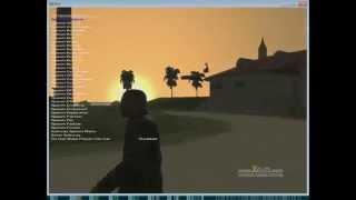 Vice City RAGE - Live developers' diary #1 (Part 3/4) 2011 г  Записанный эфир на Justin.tv