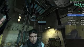 Half-Life 2 Inbounds(?) in 1:27:18