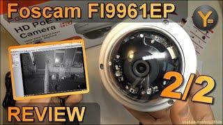 Installation & Funktionen: Foscam FI9961EP / Full HD Outdoor IP-Kamera mit Nachtsicht / microSD