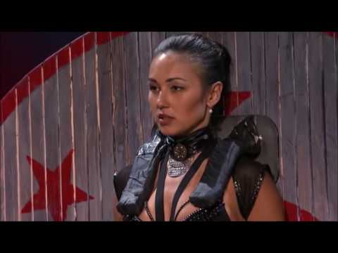 DEADLY Games Knife Throwing Act ACCIDENT!!! | Judge Cuts 2 | America's Got Talent 2016 | E