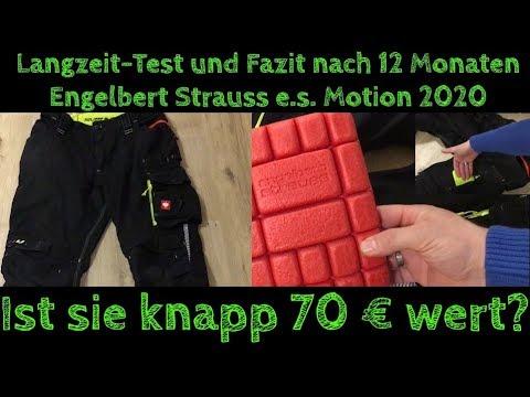 Engelbert Strauss Hose E.s. Motion 2020 /1 Jahr Langzeit -Test Und Fazit /Ist Sie Ihren Preis Wert?