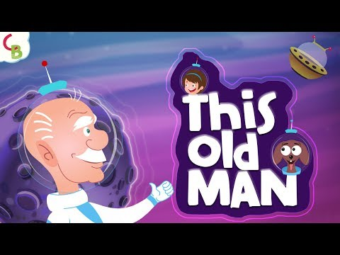 This Old Man Song | Nursery Rhymes with Lyrics | Songs for Kids by Cuddle Berries