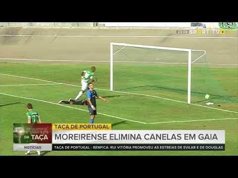 Canelas 1-3 Moreirense Taca de Portugal