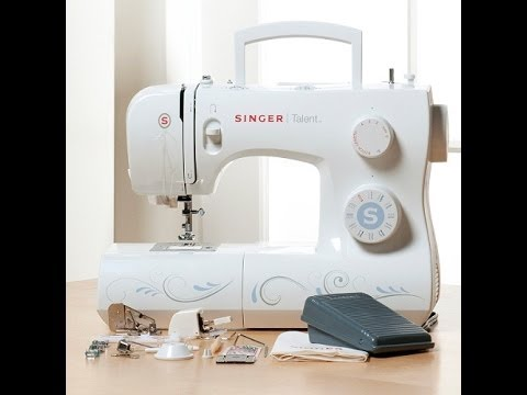 Singer Talent 40Stitch Sewing Machine YouTube Unique Singer Talent Sewing Machine Reviews