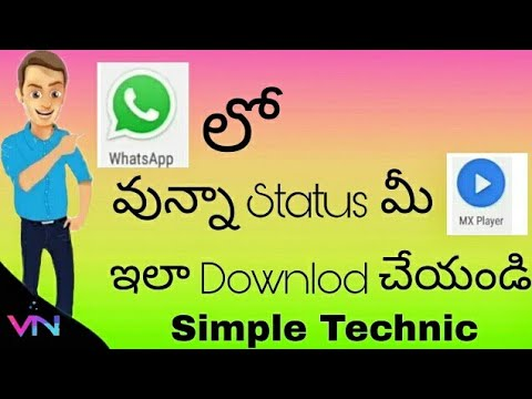 Watsup status videos mx player export it's very simple and proof