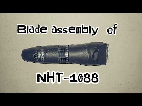 Blade assembly of NHT-1088/NHT-1089,Nova trimmer repair and blade assembly