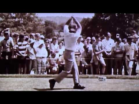 Arnold Palmer - Driver (Slow Motion) Classic Footage!