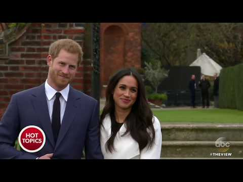 What's Behind Craze Over Prince Harry, Meghan Markle Wedding?   The View
