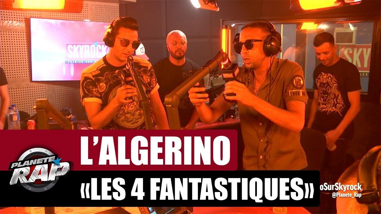 algerino les 4 fantastiques