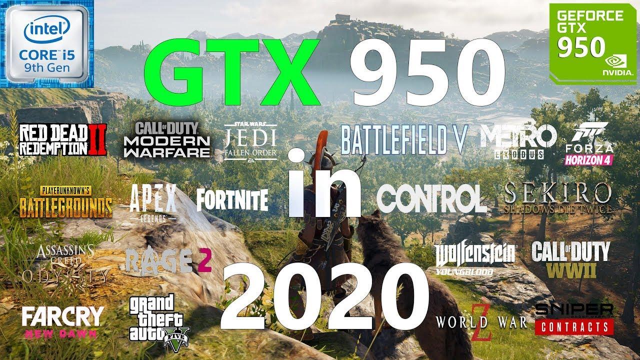 GTX 950 Test in 20 Games in 2020