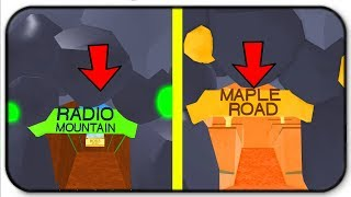 Voyager à Maple Road et Radio Mountain - Roblox Lumber Simulator 2