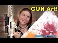 GUN Art?! Painting With A Gun!