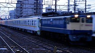 【4K】東京メトロ17000系甲種輸送 彦根駅通過シーン(2021年4月30日)
