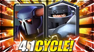 IMPOSSIBLE TO DEFEND THIS!! New Mega Knight + Pekka Cycle is INSANE!! Clash Royale Mega Knight Deck