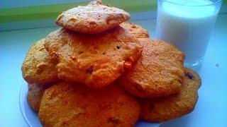 Американское печенье с орехами