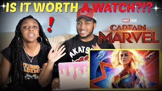IS IT WORTH A WATCH?? | Captain Marvel Movie Review + SPOILERS