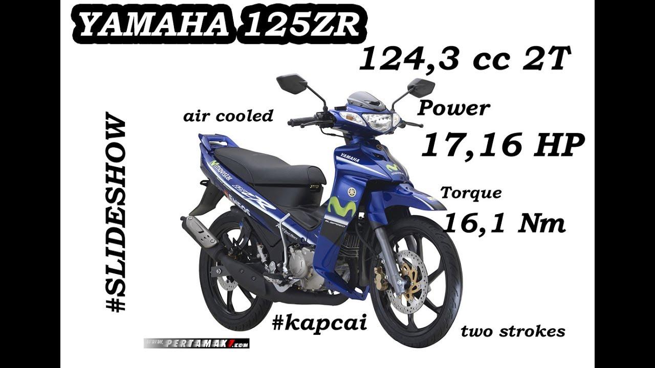 Yamaha 125zr Movistar Special Limited Edition Kapcai Malaysia Slide