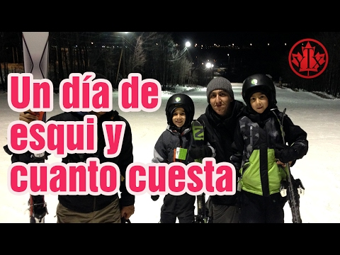 Cuanto cuesta esquiar en Canada / ski Mont St. Bruno Vivir en Montreal